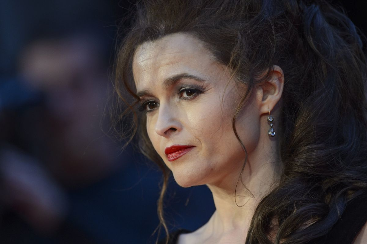Helena bonham carter at suffragette premiere at 2015 bfi london film