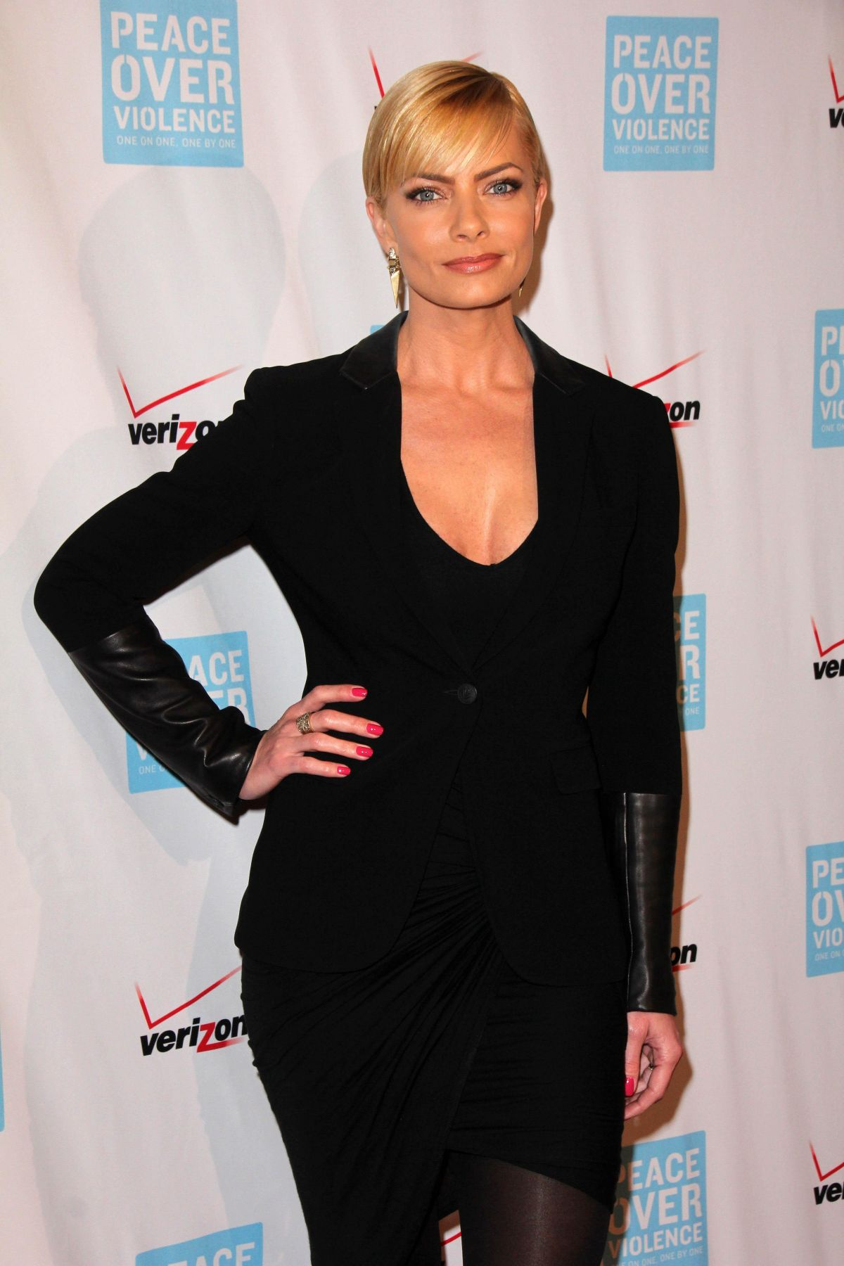 JAIME PRESSLY at 44th Annual Peace Over Violence Humanitarian Awards in Los Angeles 10/16/2015
