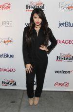 JASMINE VILLEGAS at Festival People en Espanol 2015 in New York 10/18/2015