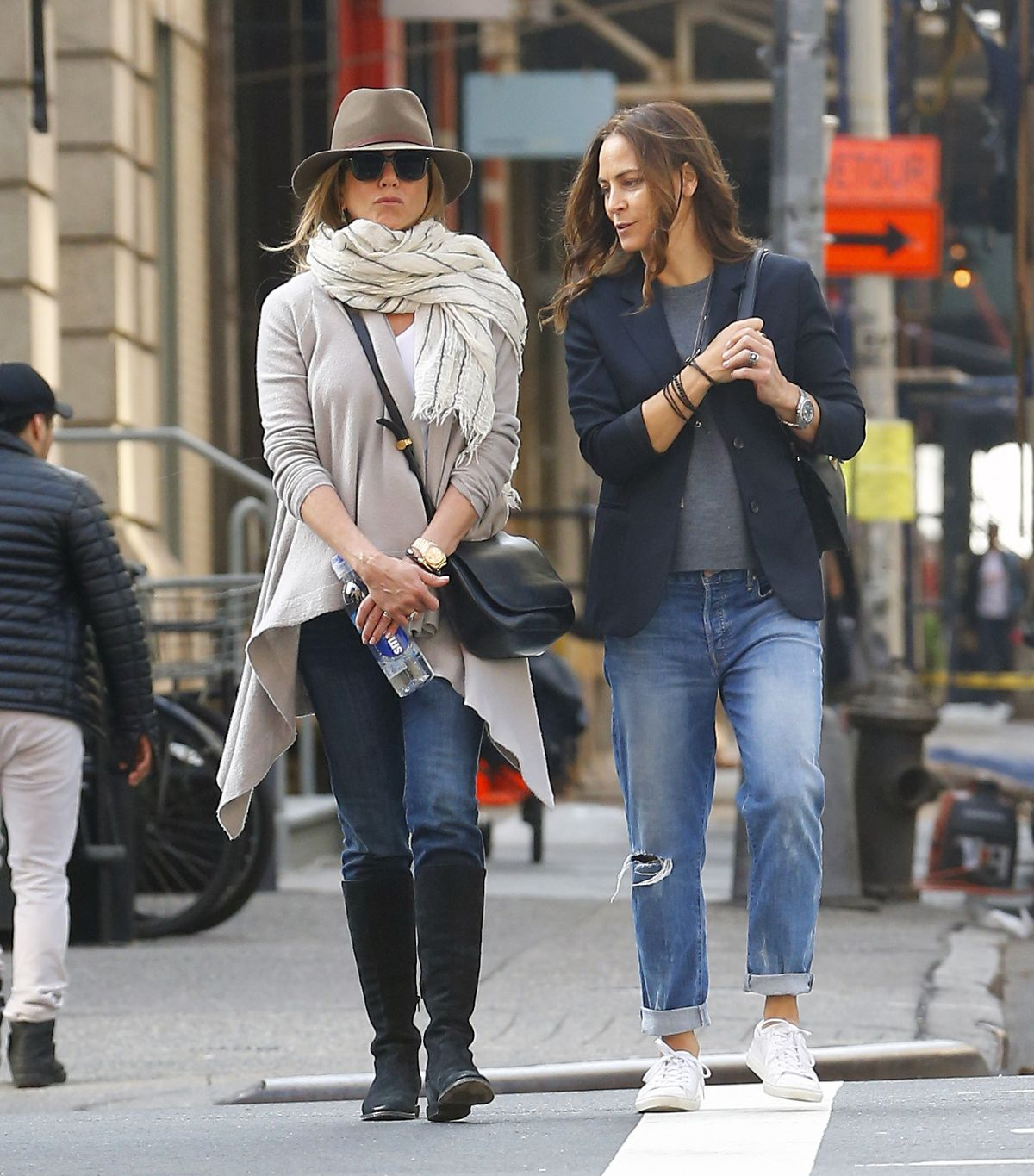 JENNIFER ANISTON Out And About In New York 10/08/2015