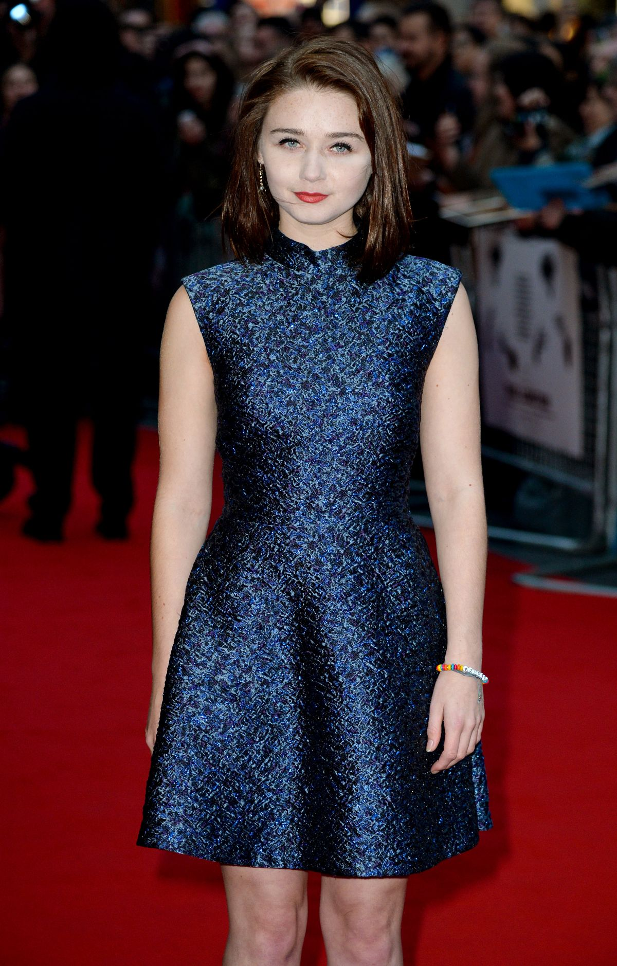 JESSICA BARDEN at The Lobster Premiere at 2015 BFI London Film Festival 10/13/2015