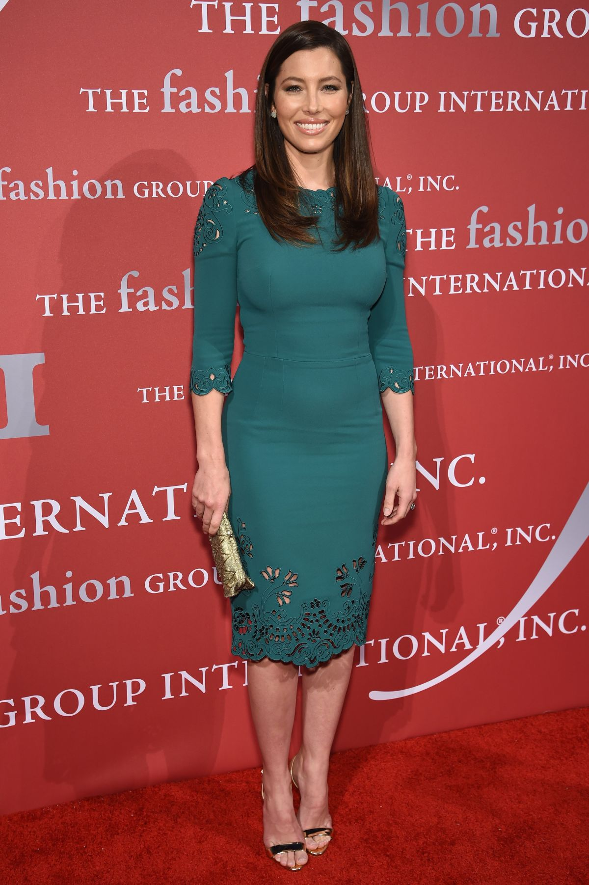 JESSICA BIEL at 2015 Fashion Group International Night of Stars Gala in New York 10/22/2015