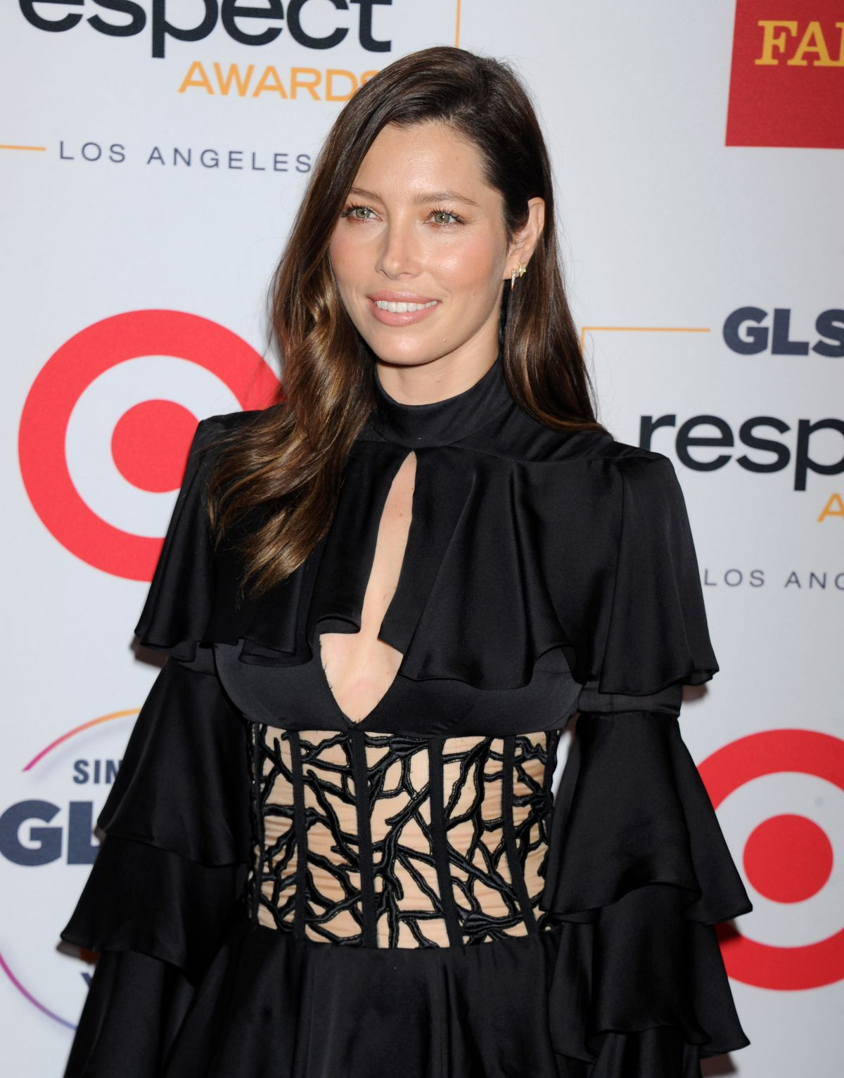 JESSICA BIEL at 2015 glsen Respect Awards in Beverly Hills 10/23/2015