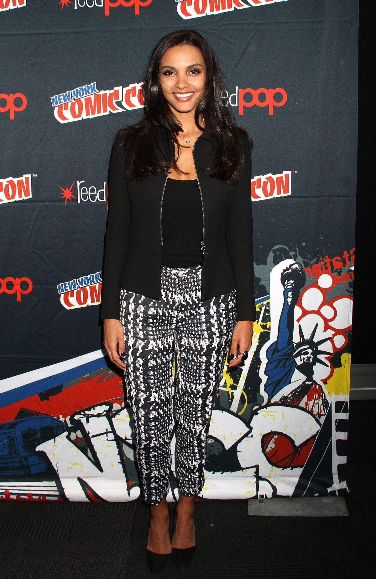 JESSICA LUCAS at 2015 New York Comic-con 10/11/2015
