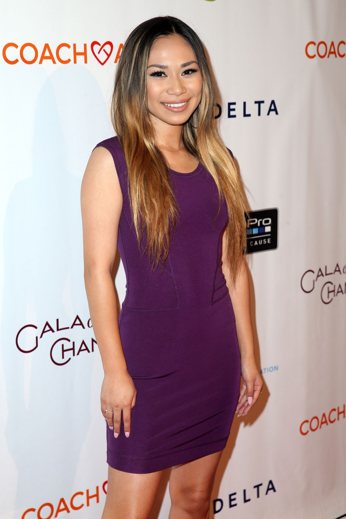 JESSICA SANCHEZ at Coachart Gala of Champions in Beverly Hills 10/15/2015