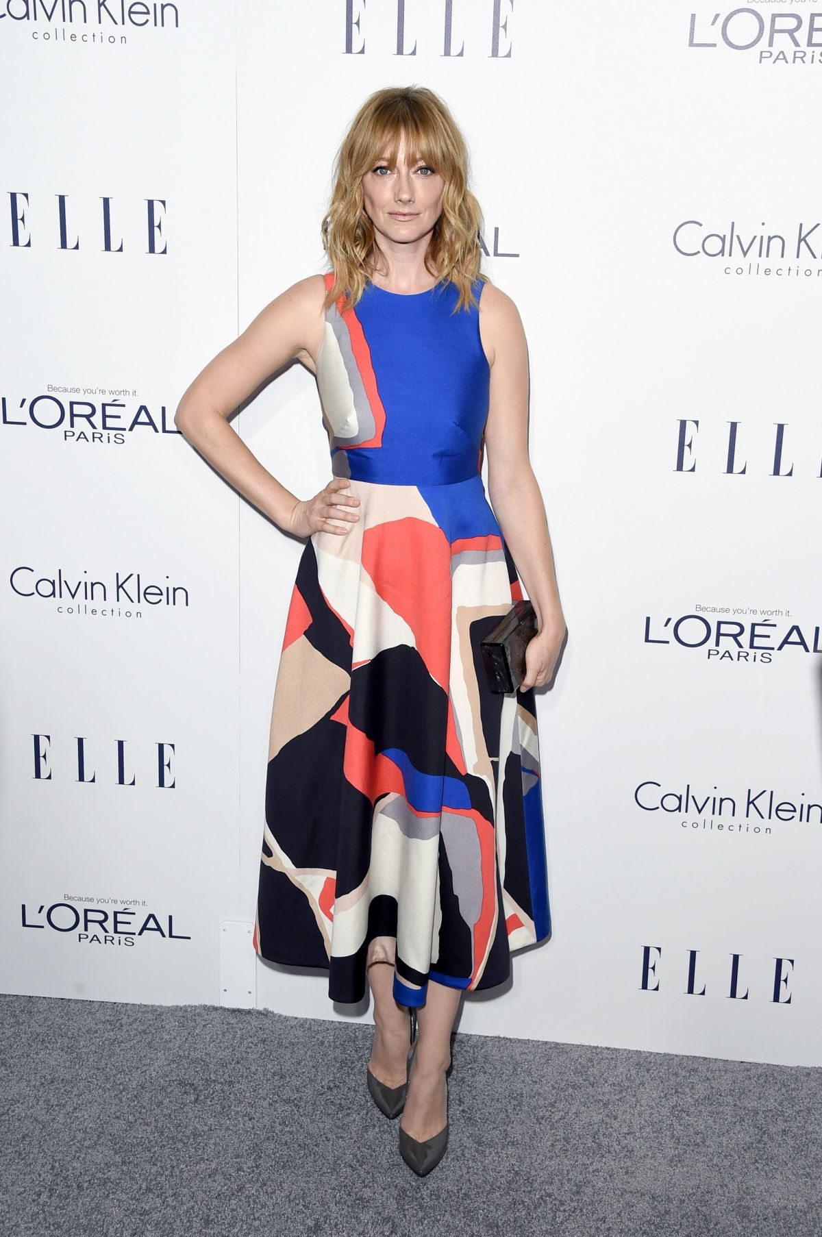 JUDY GREER at 2015 Elle Women in Hollywood Awards in Los Angeles 10/19/2015