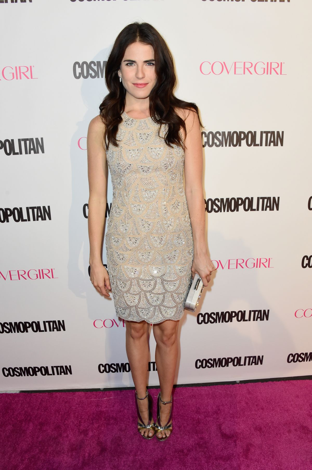 KARLA SOUZA at Cosmopolitan's 50th Birthday Celebration in West Hollywood 10/12/2015