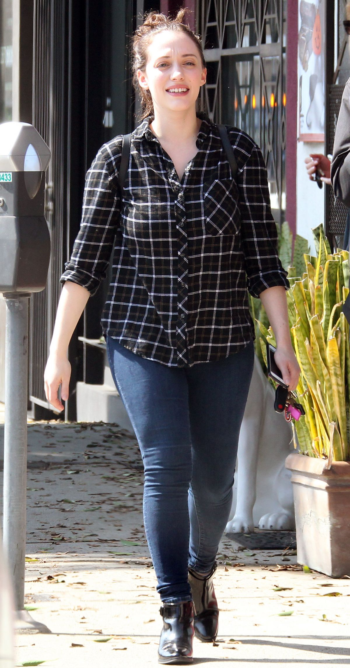 KAT DENNINGS Out and About in West Hollywood 10/17/2015