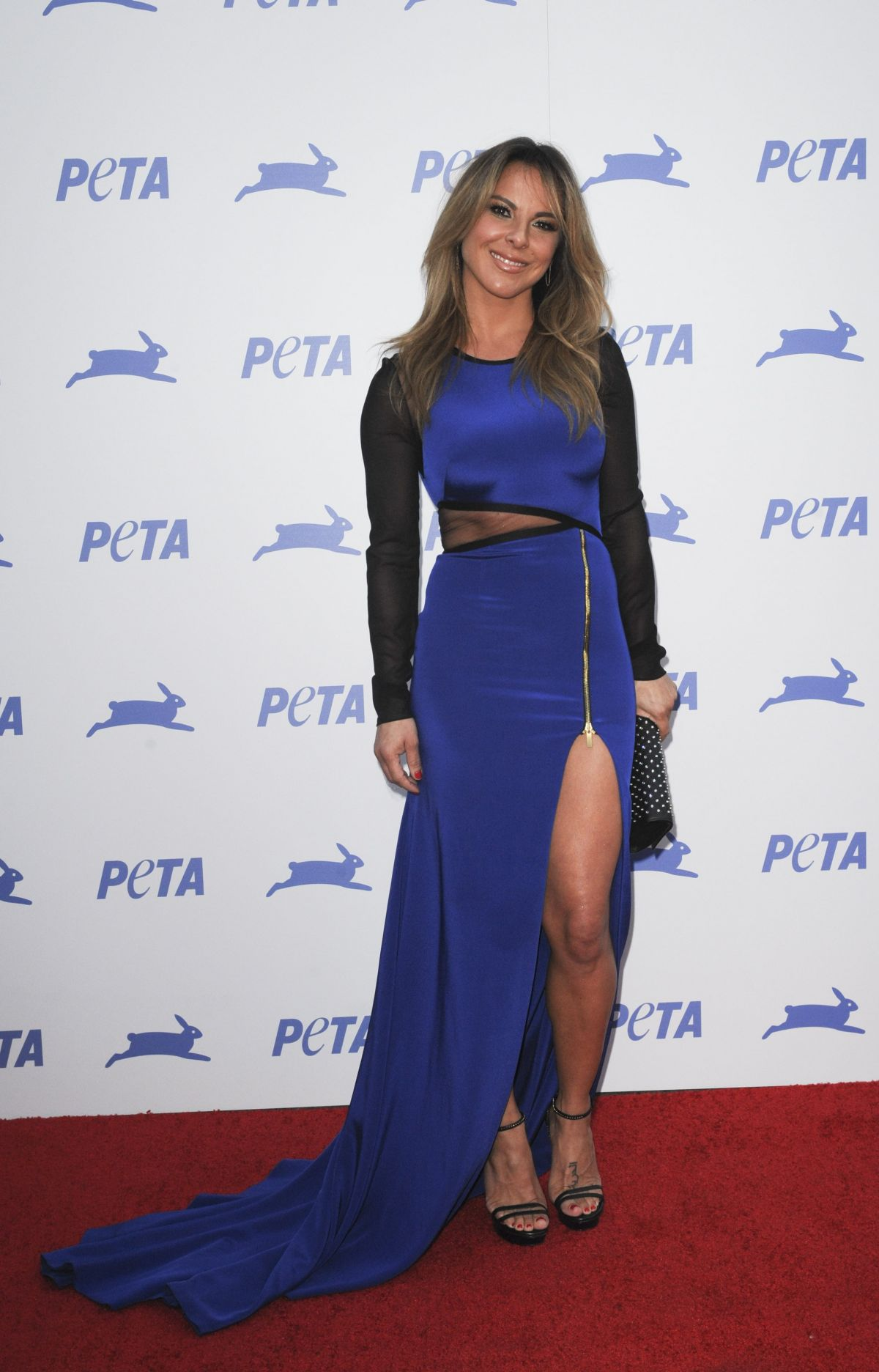 KATE DEL CASTILLO at Peta's 35th Anniversary Party in Los Angeles 09/30/2015