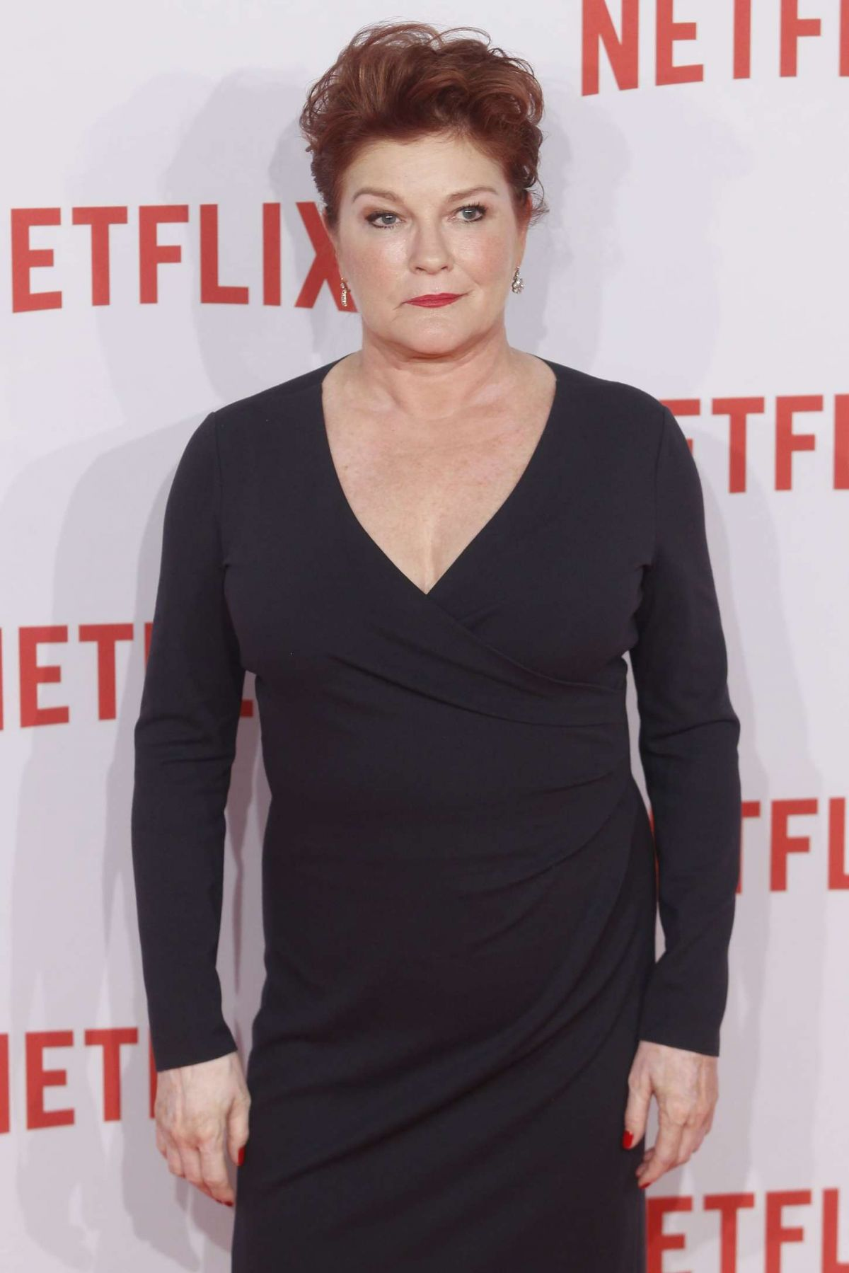 KATE MULGREW at Netflix at Netflix Spain's Presentation in Madrid 10/20/2015