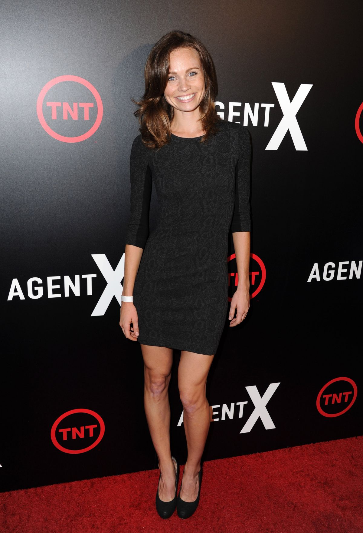 KATIE COOPER at Agent X Premiere in West Hollywood 10/20/2015