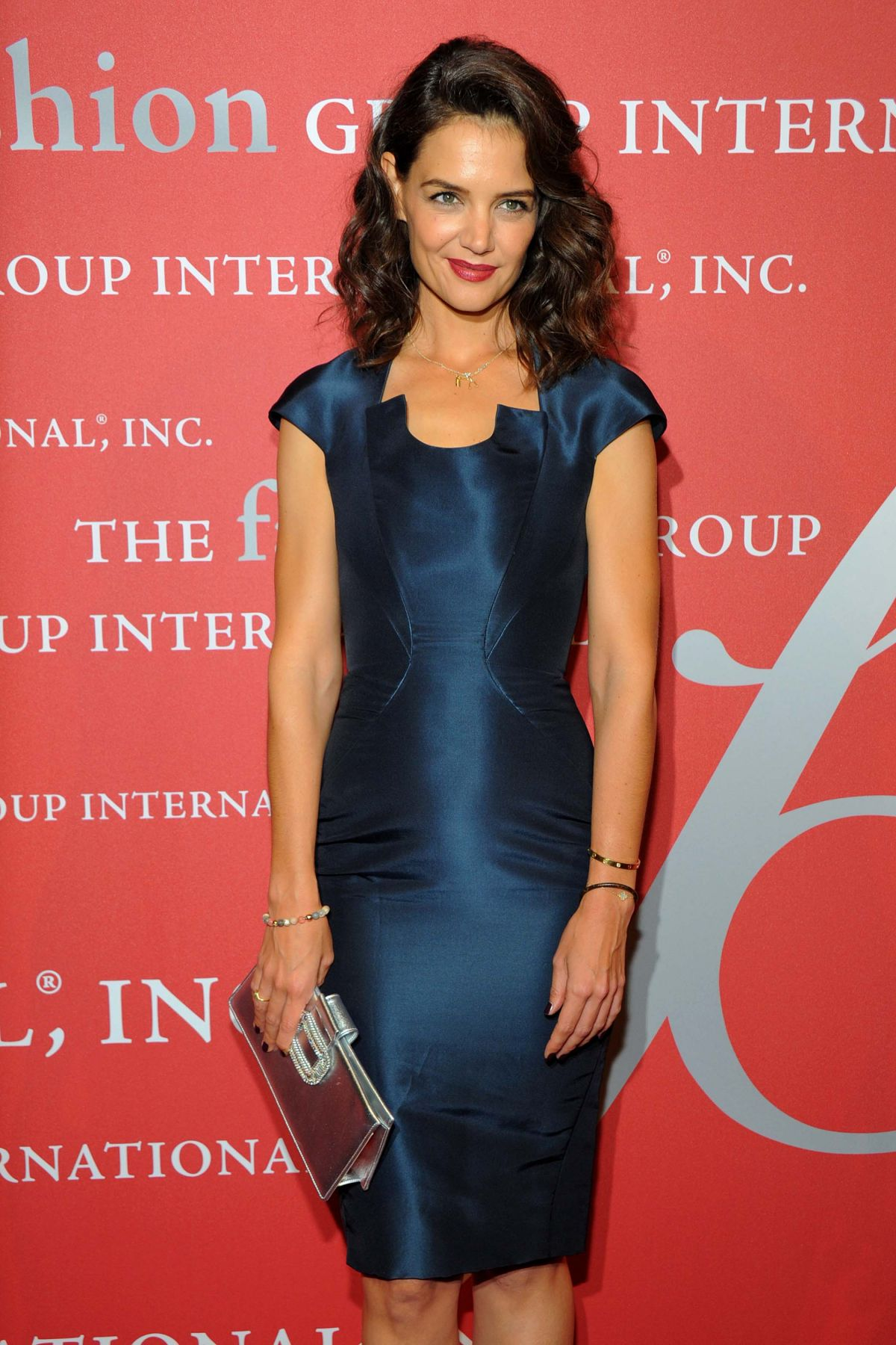 KATIE HOLMES at 2015 Fashion Group International Night of Stars Gala in New York 10/22/2015