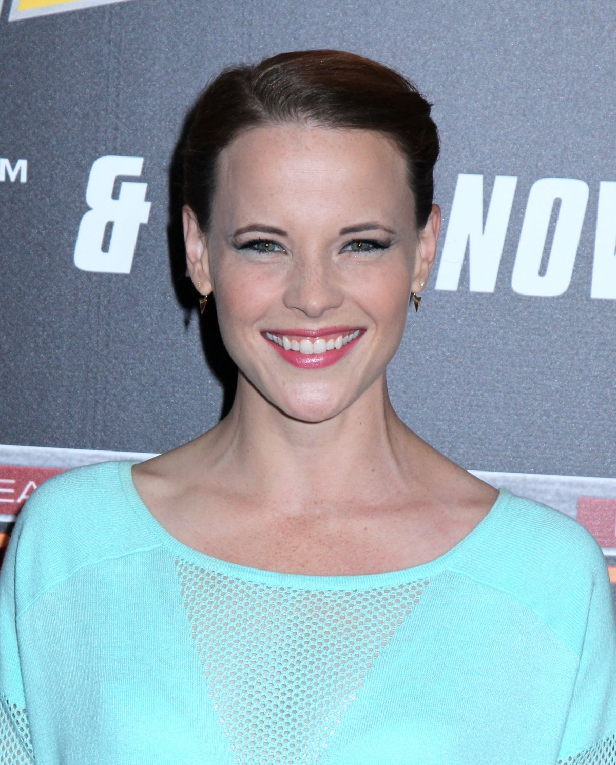 KATIE LECLERC at Back to the Future Special Anniversary Screening in New York 10/21/2015