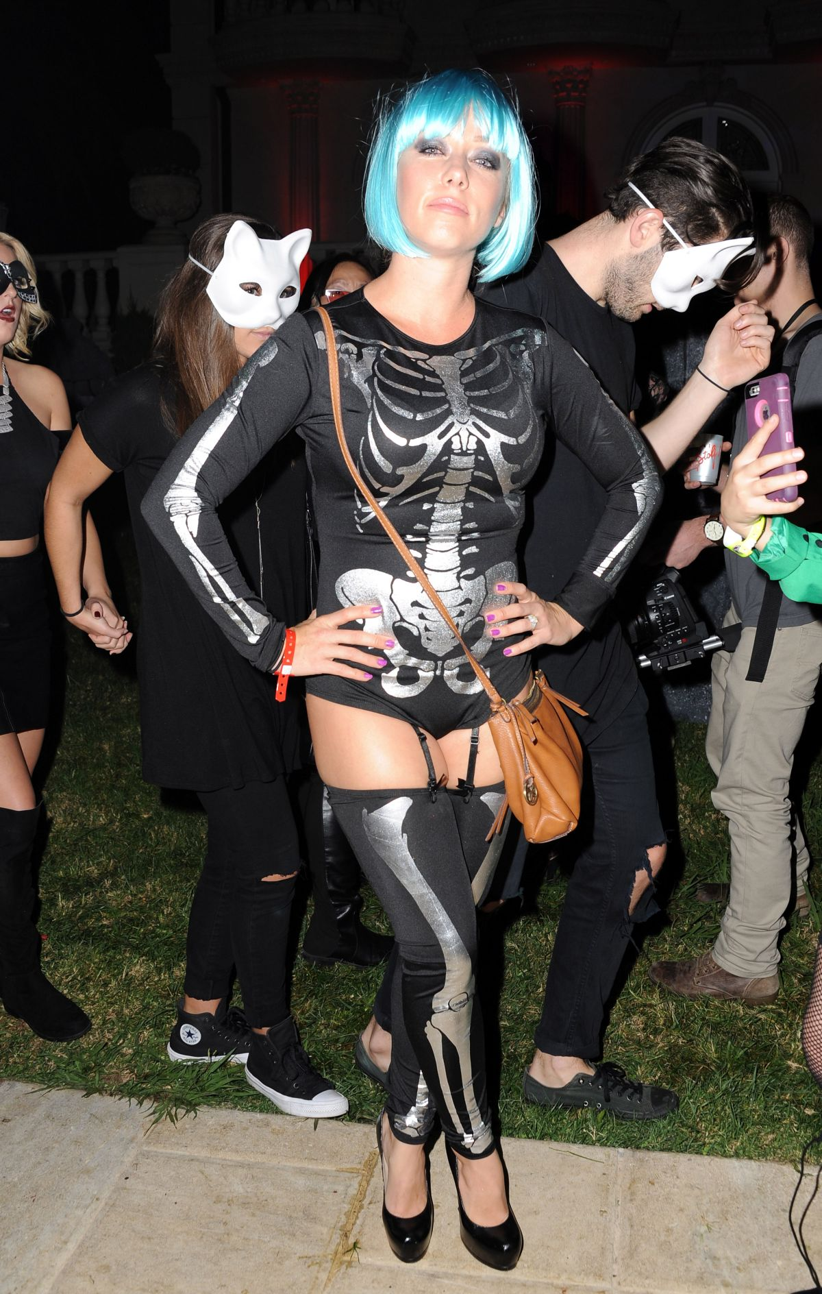 Maxium Magaizne Halloween Party 2020 KENDRA WILKINSON at Maxim Magazine's Official Halloween Party in