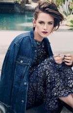 KRISTEN STEWART in Marie Claire Magazine, Denim Issue, August 2015