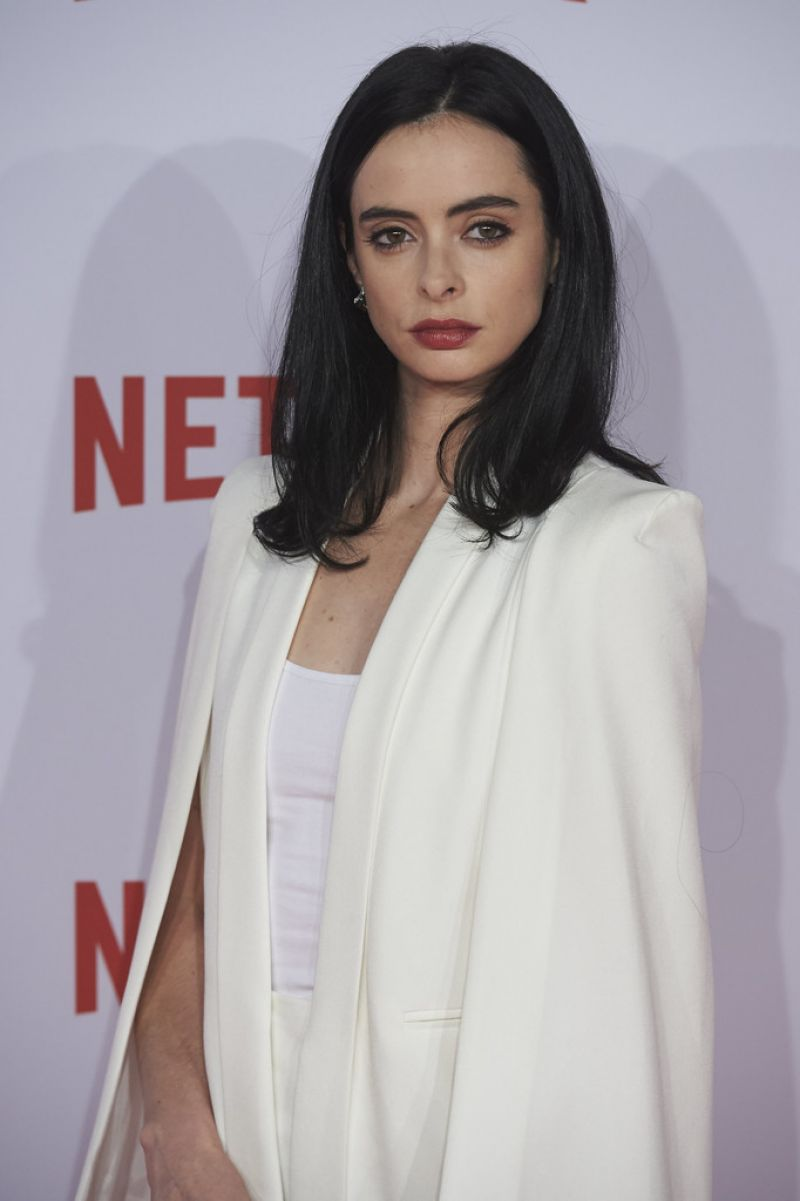 KRYSTEN RITTER at Netflix Presentation in Madrid 10/20/2015