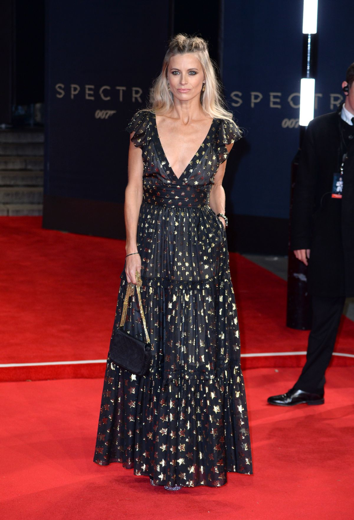 LAURA BAIELY at Spectre Premiere in London 10/26/2015