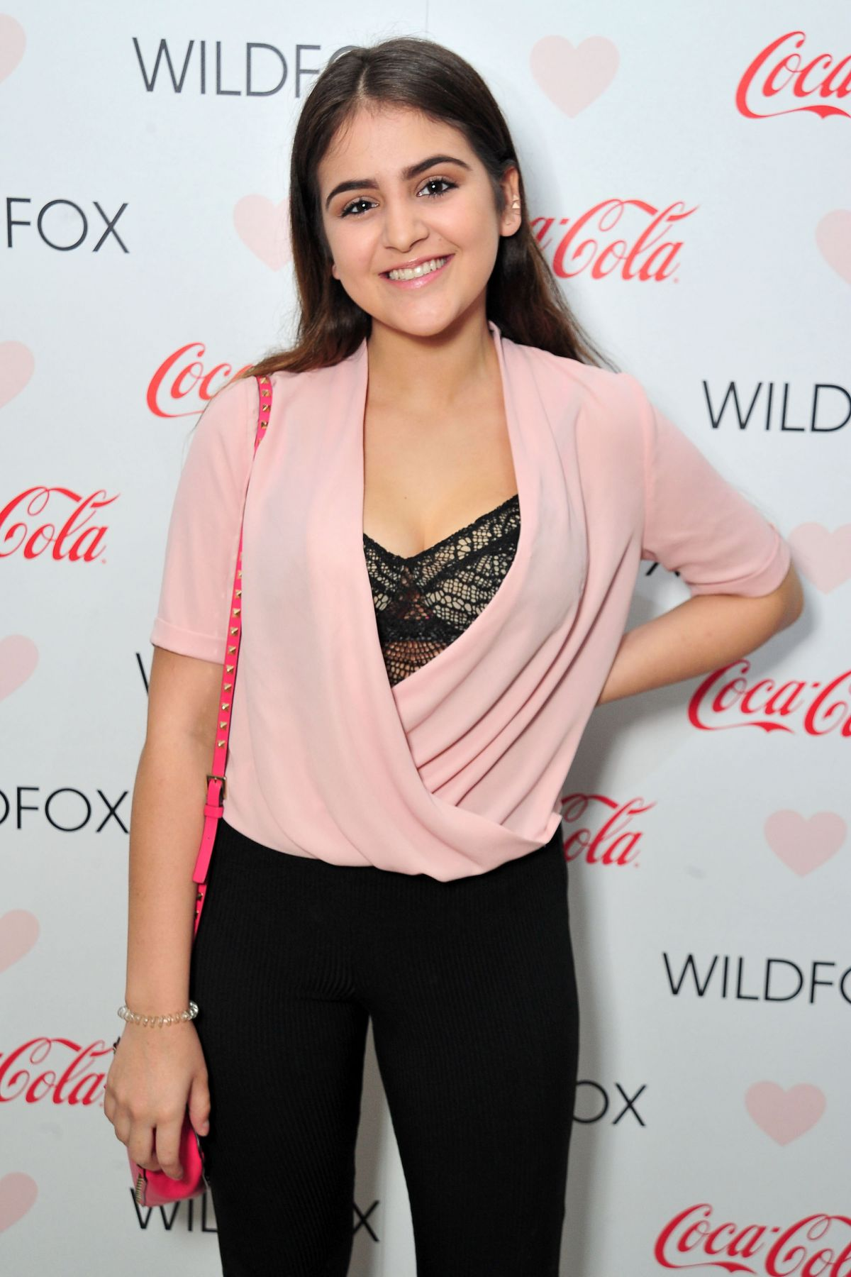 LAUREN GIRALDO at Wildfox Loves Coca-cola Capsule Collection Launch Party in West Hollywood 10/22/2015
