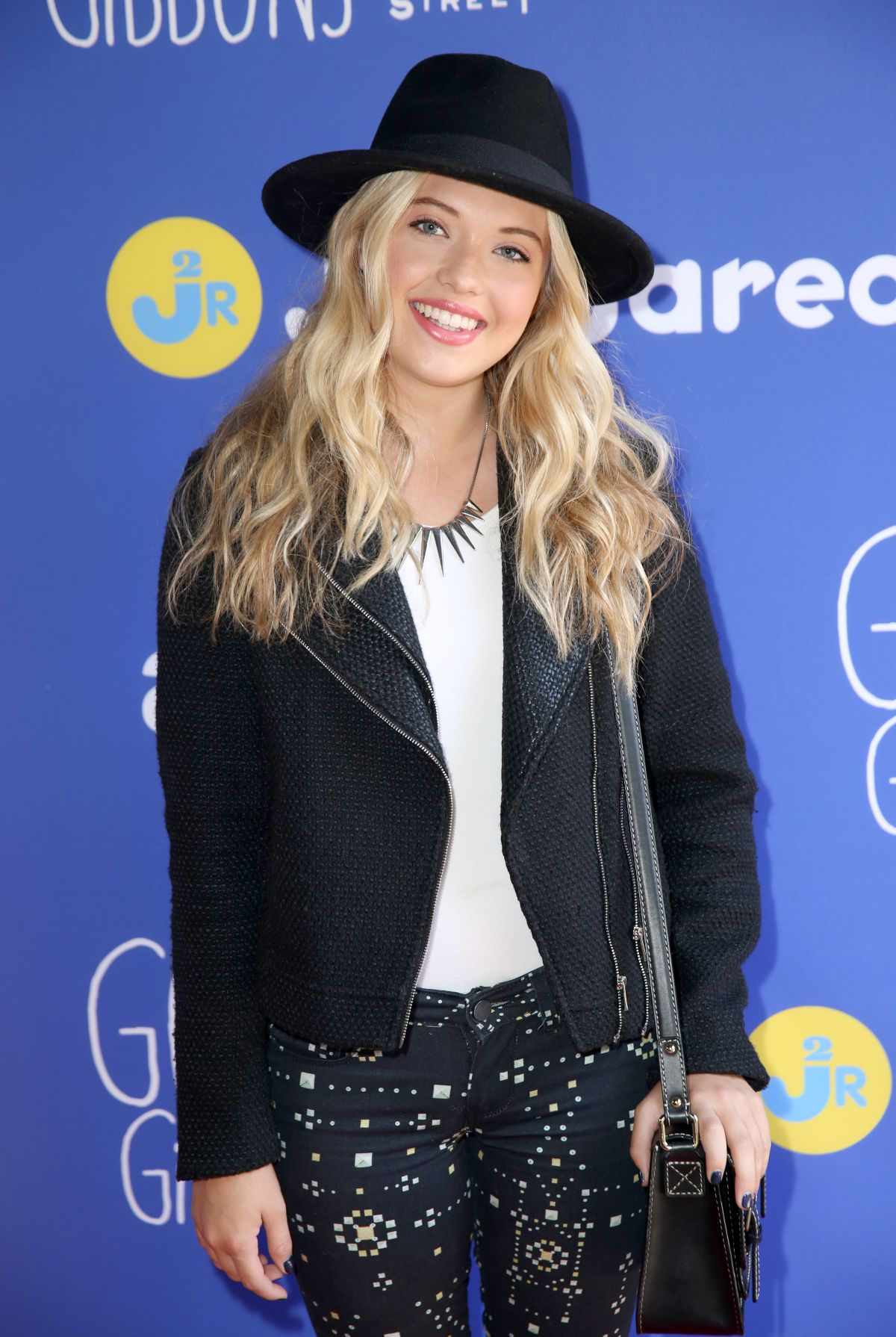 LAUREN TAYLOR at Just Jared Fall Fun Day in Los Angeles 10/24/2015