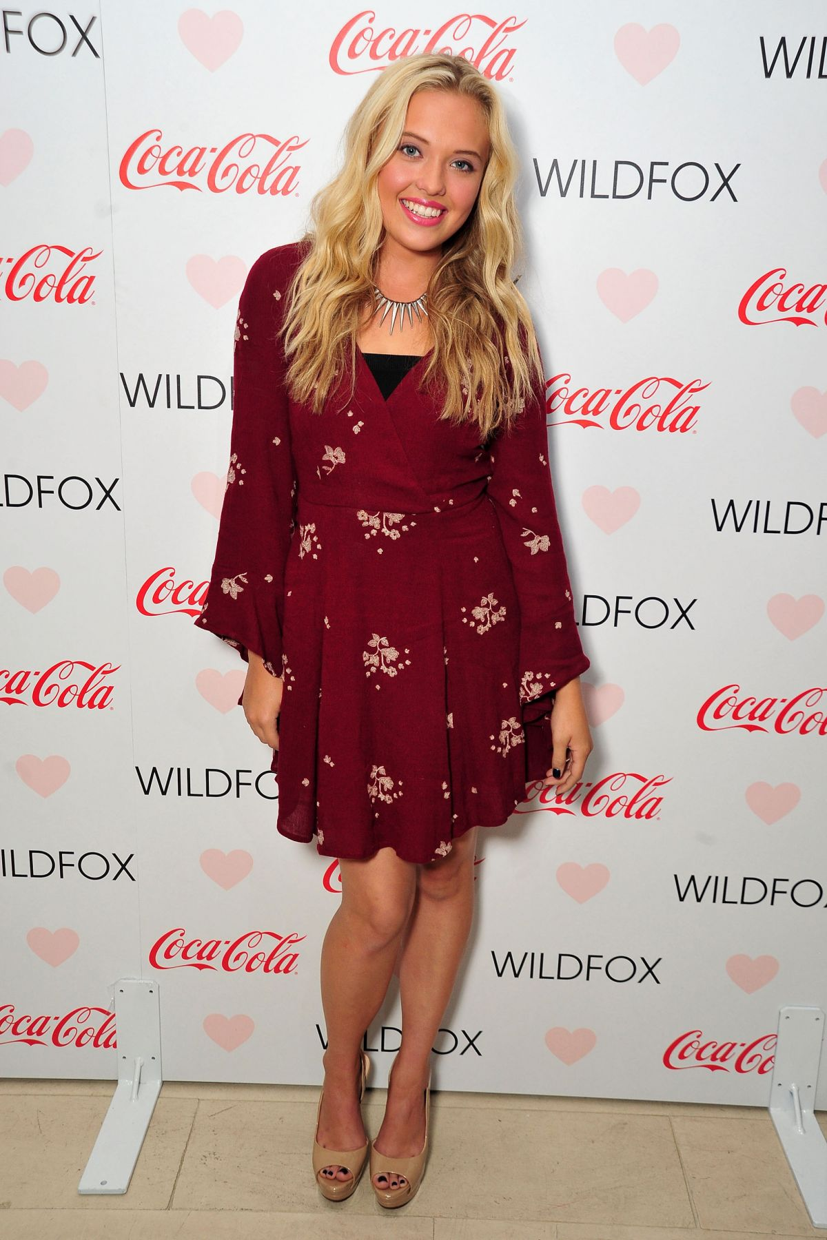 LAUREN TAYLOR at Wildfox Loves Coca-cola Capsule Collection Launch Party in West Hollywood 10/22/2015