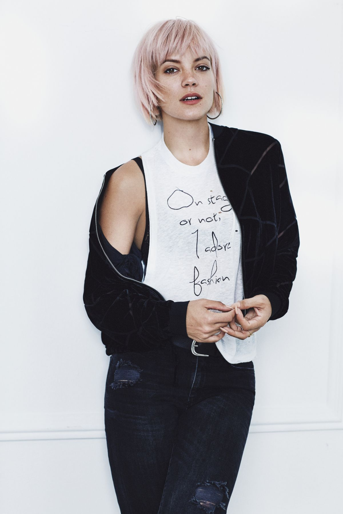 LILY ALLEN by Ryan Thwaites for Vero Moda Winter 2015 Collection ...