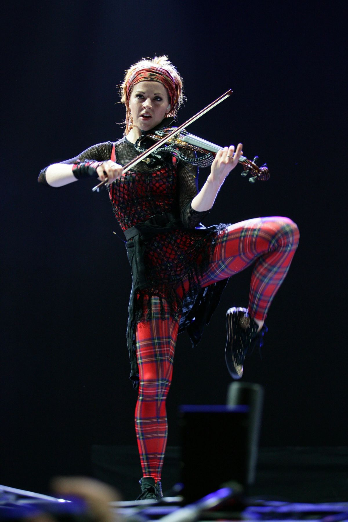 LINDSEY STIRLING Performs at 2015 Life is Beautiful Festival in Las Vegas 09/25/2015