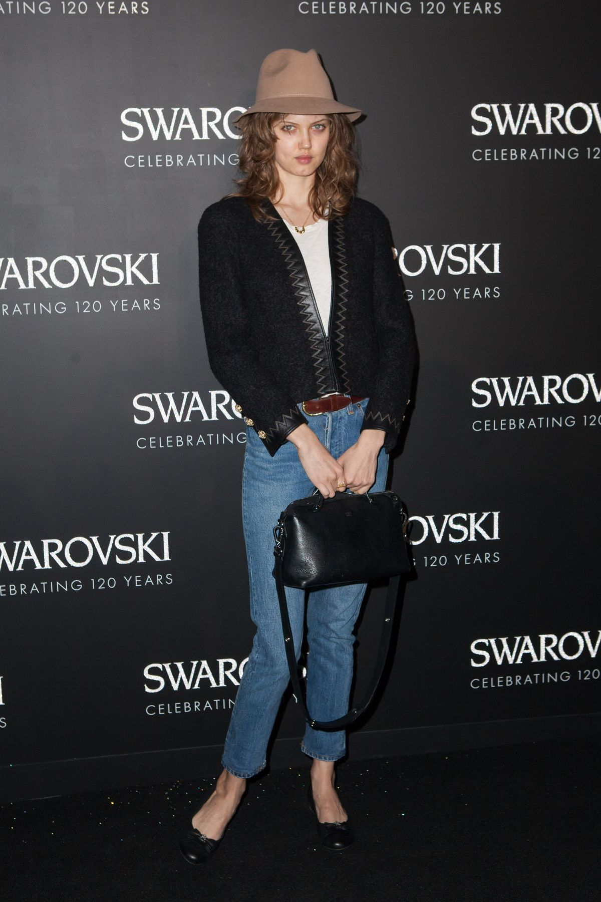 LINDSEY WIXSON at Swarovski 120 x Rizzoli Exhibition and Cocktail in Paris 09/30/2015