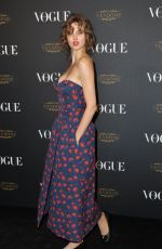 LINDSEY WIXSON at Vogue's 95th Anniversary Party in Paris 10/03/2015