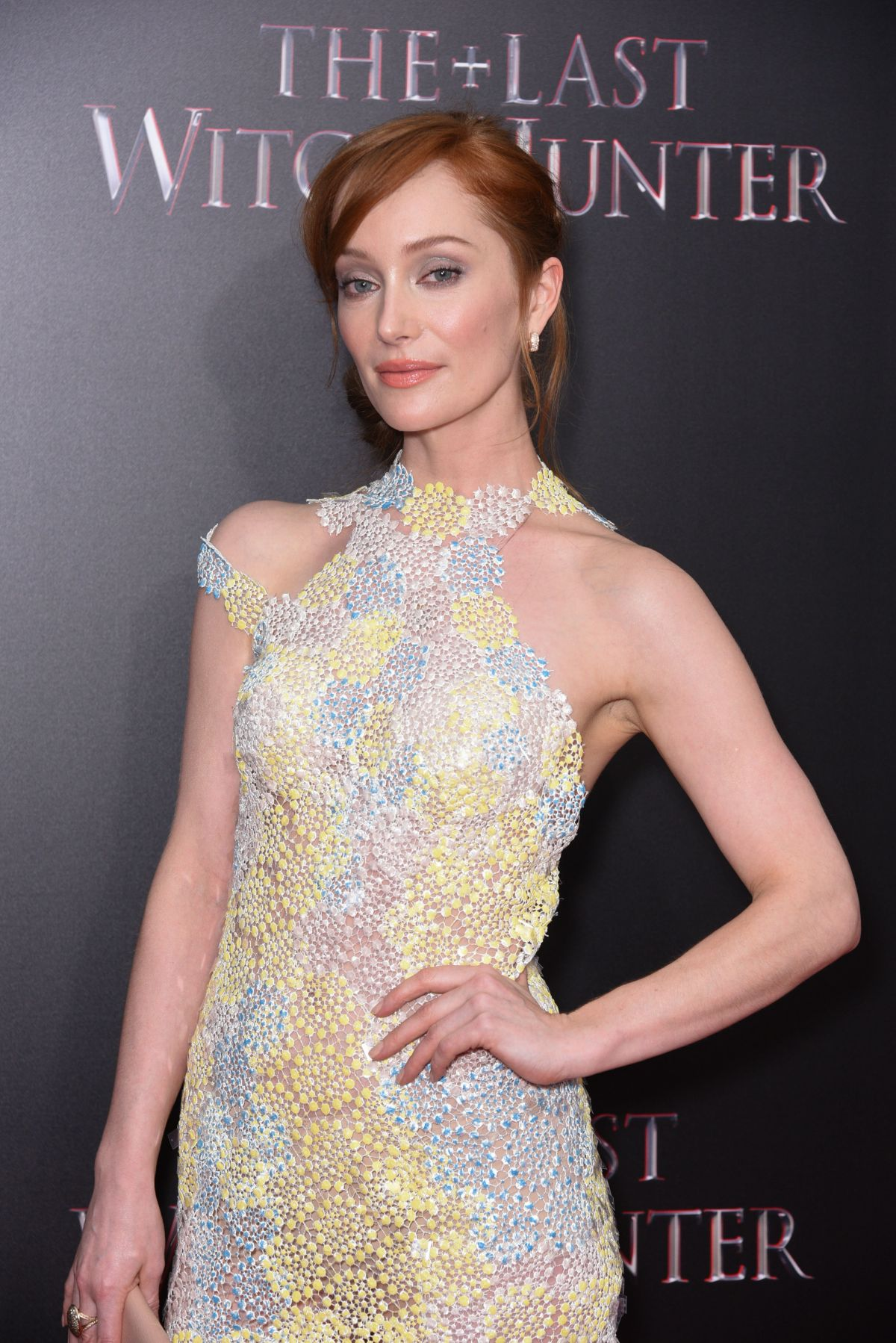 LOTTE VERBEEK at The Last Witch Hunter Premiere in New York 10/13/2015