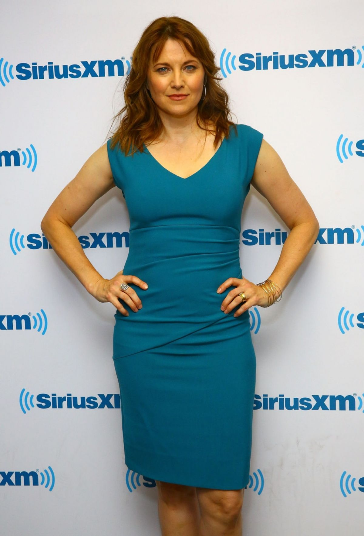 LUCY LAWLESS at SiriusXM Studios in New York 10/26/2015
