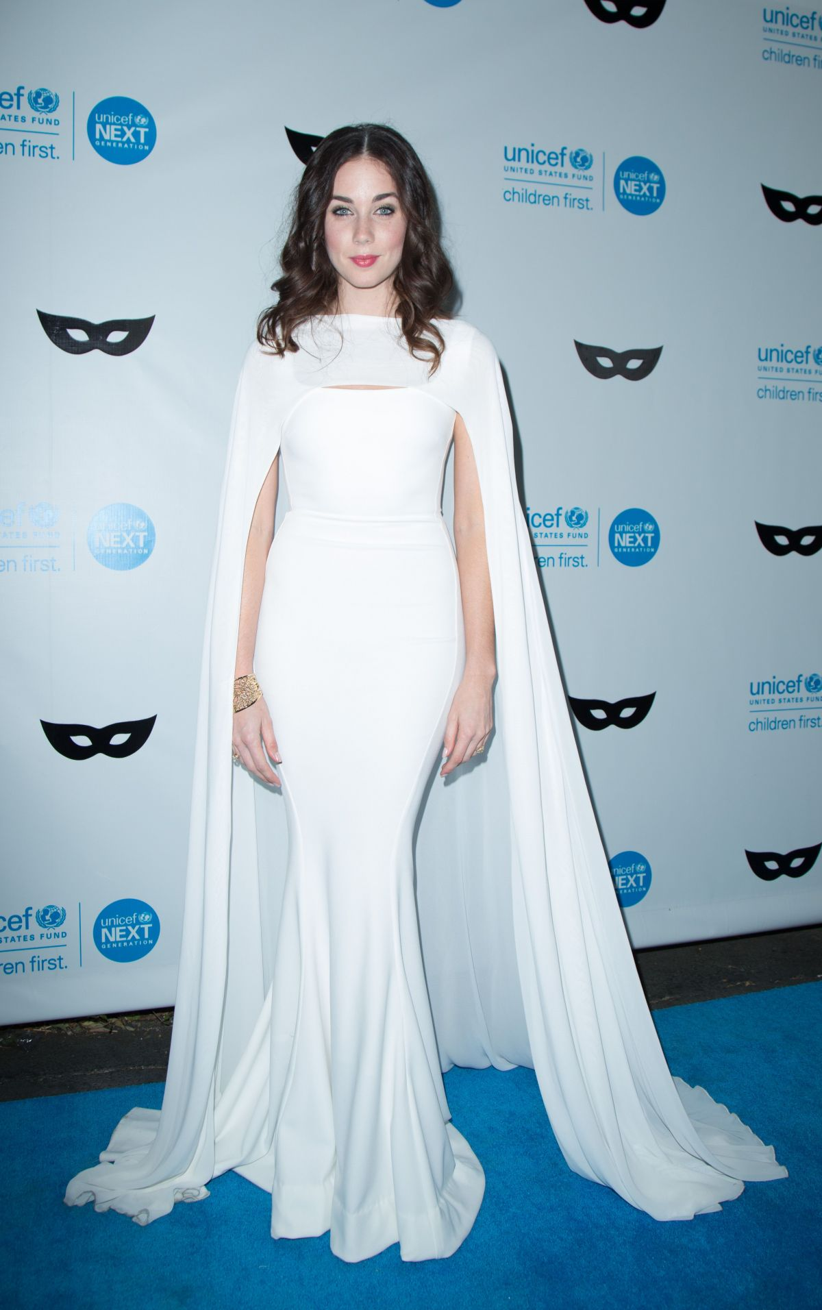 LYNDON SMITH at 2015 Unicef Black & White Masquerade Ball in Los Angeles 10/30/15