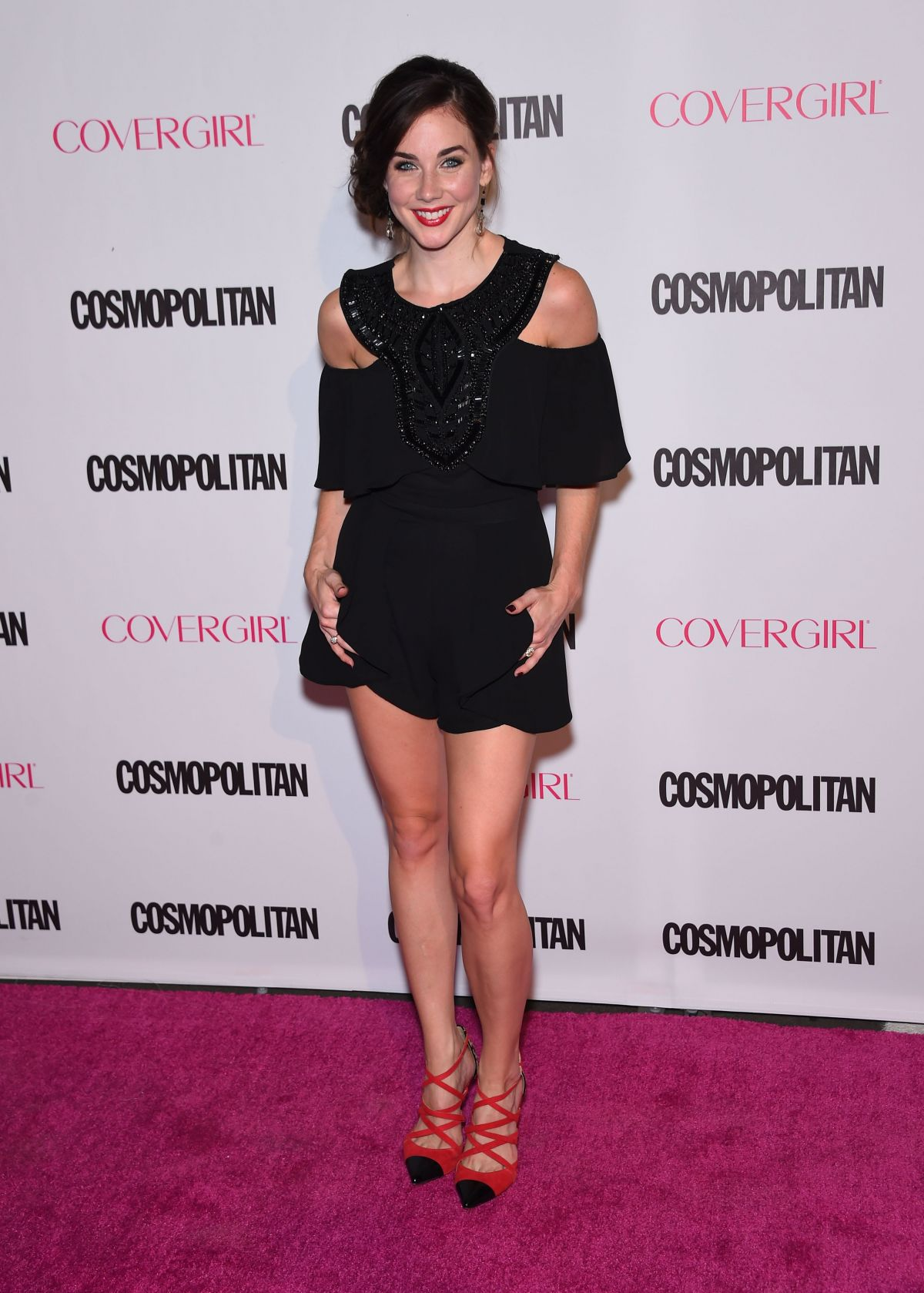 LYNDON SMITH at Cosmopolitan's 50th Birthday Celebration in West Hollywood 10/12/2015