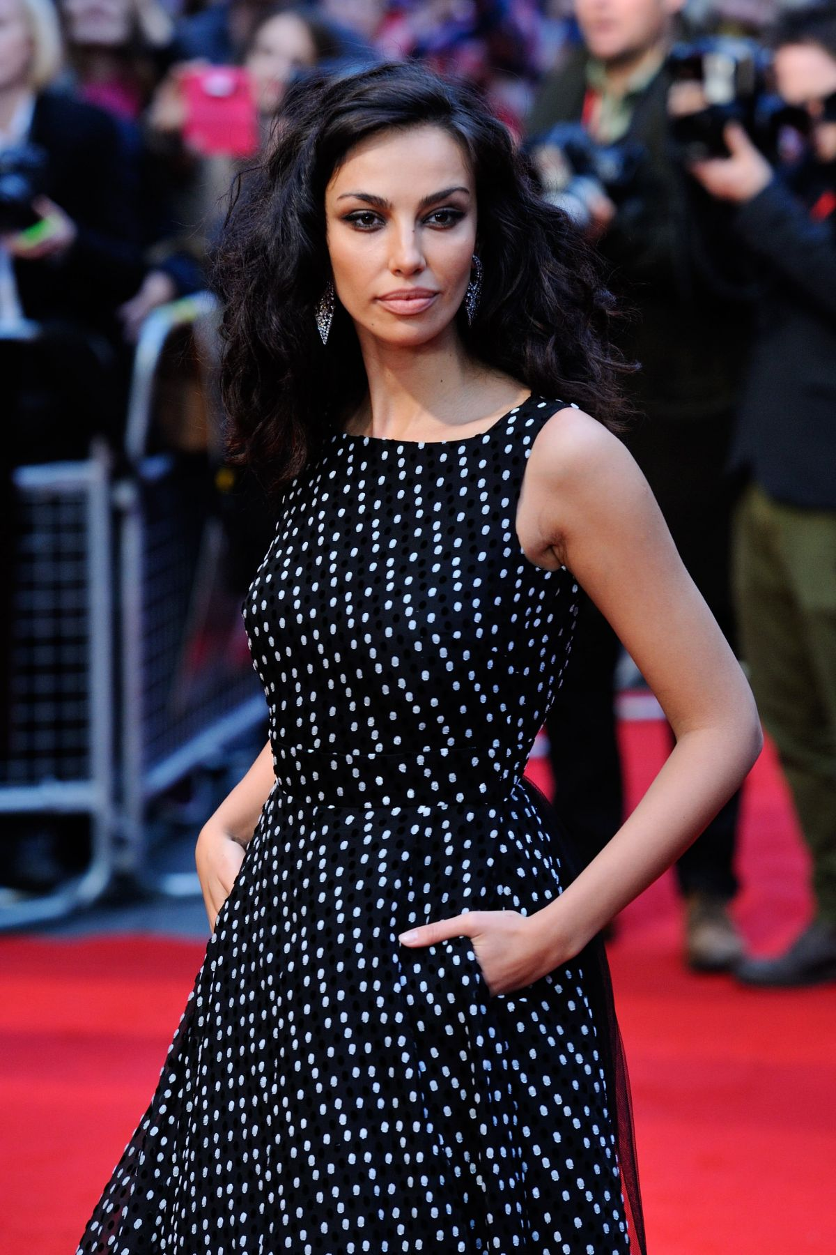 MADALINA GHENEA at Youth Premiere at 2015 BFI London Film Festival 10/15/2015
