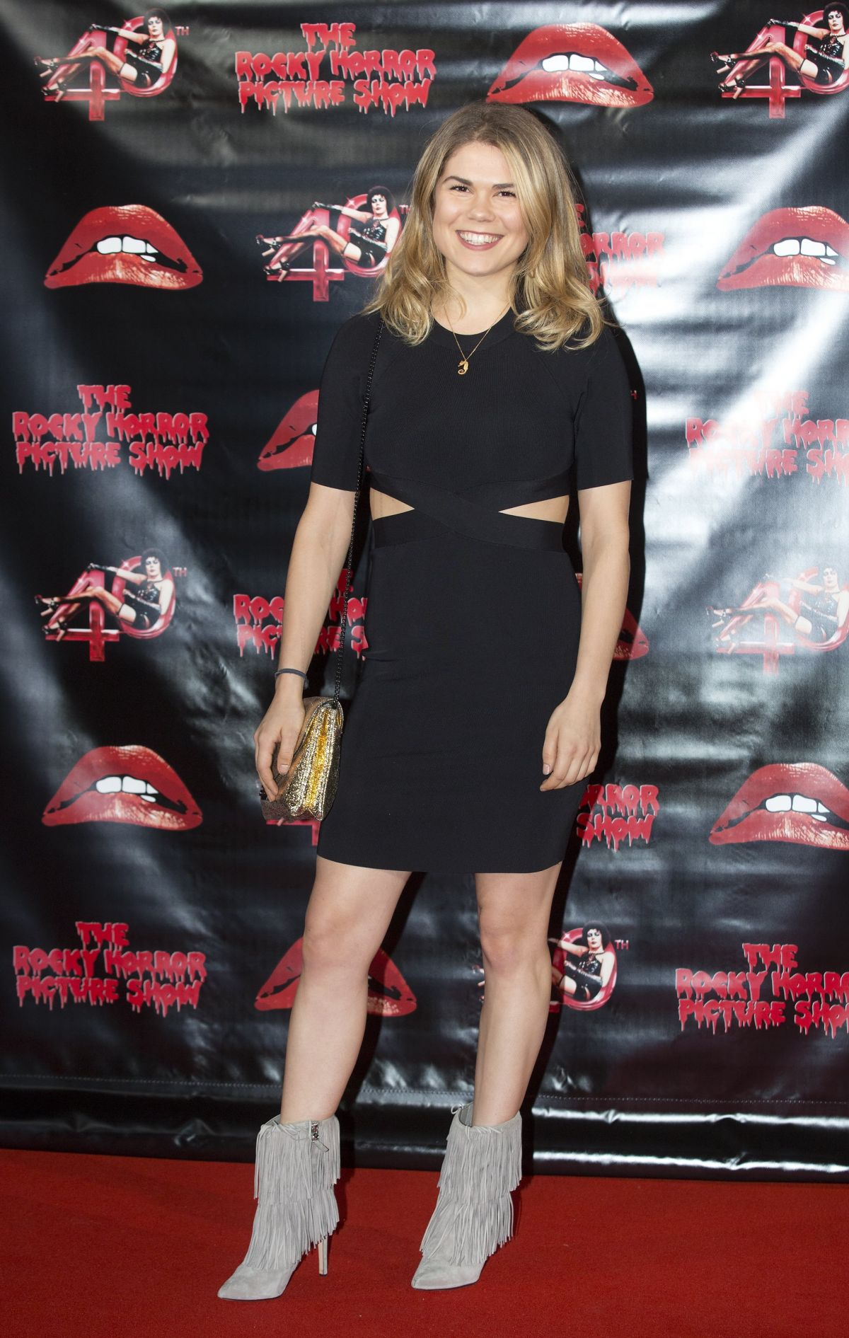 MADELEINE SHAW at Rocky Horror Picture Show: 40th Anniversary Screening in London 10/27/2015