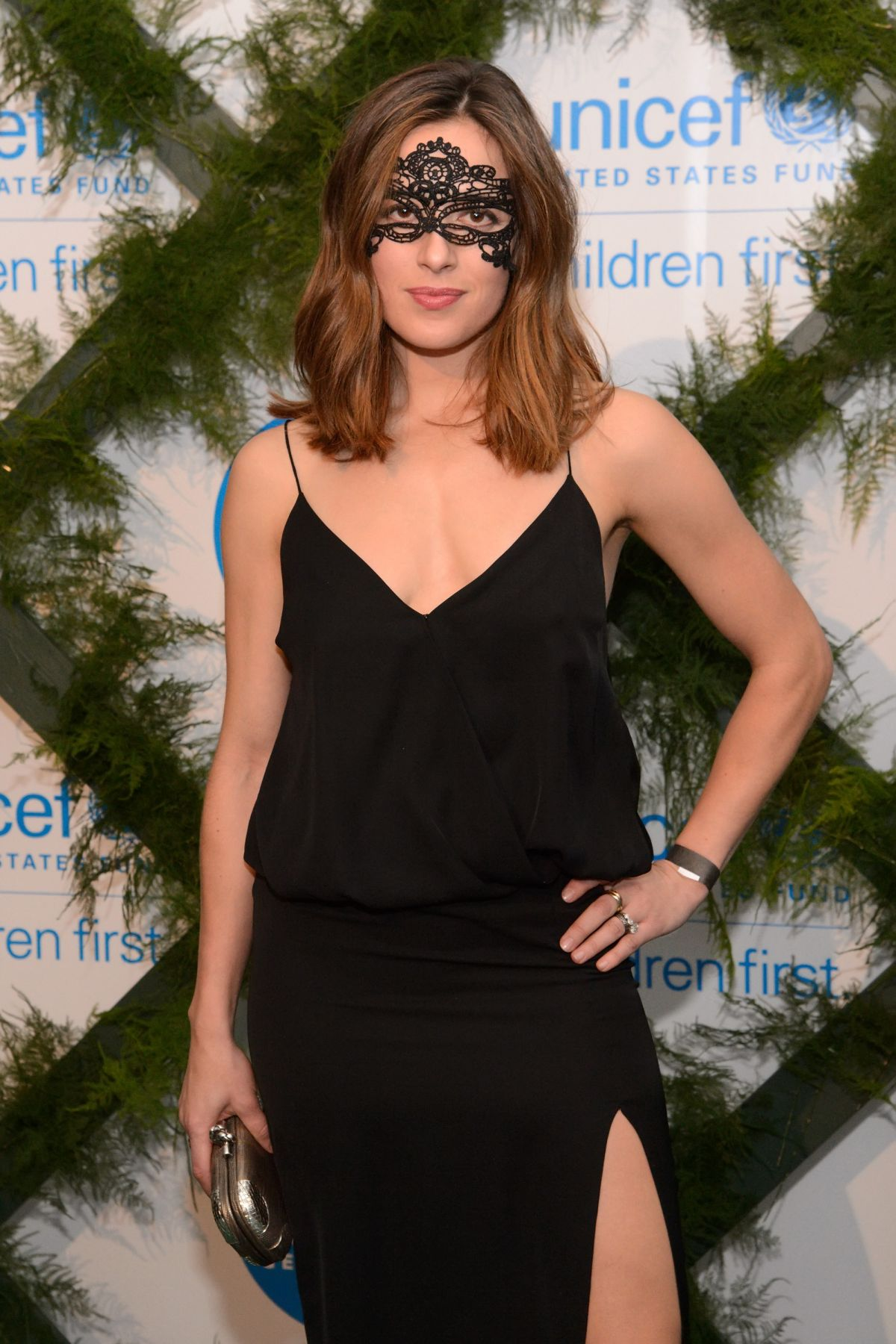 MARINA SQUERCIATI at Unicef Neverland Masquerade Ball in Chicago 10/16/2015