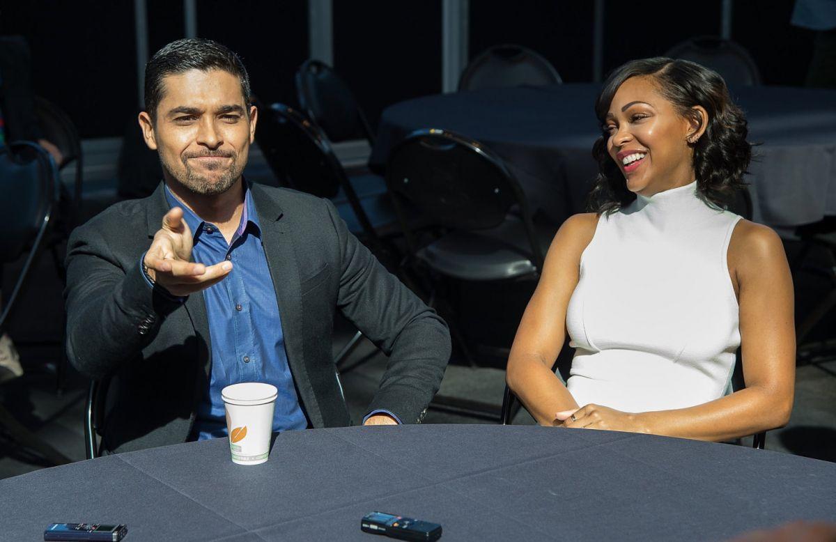 MEAGAN GOOD at Minority Report Panel at 2015 New York