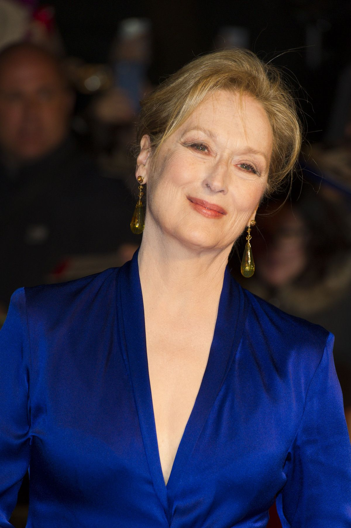 MERYL STREEP at Suffragette Premiere at 2015 BFI London
