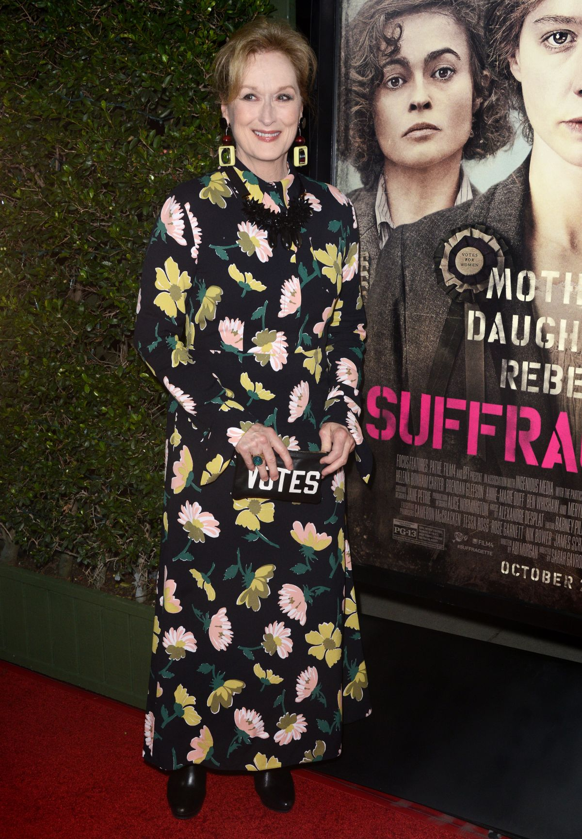 MERYL STREEP at Suffragette Premiere in Beverly Hills 10/20/2015