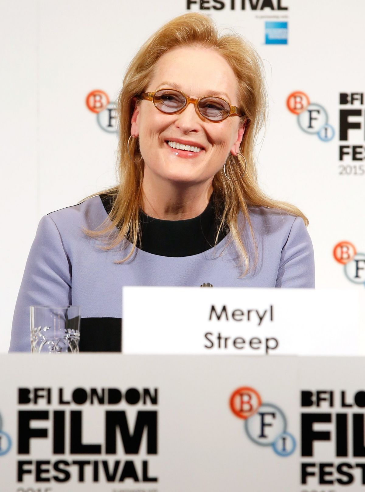 MERYL STREEP at Suffragette Press Conference in London 10/07/2015
