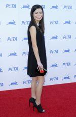 MIRANDA COSGROVE at Peta's 35th Anniversary Party in Los Angeles 09/30/2015
