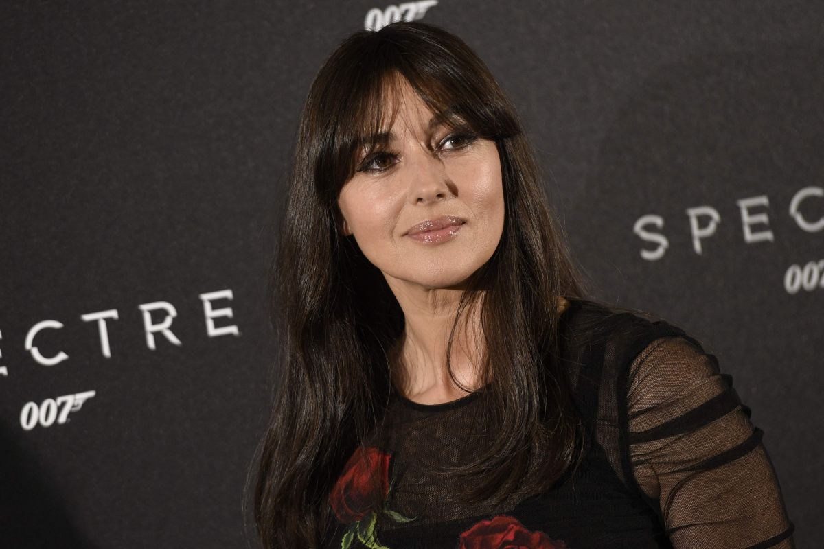 MONICA BELLUCCI At Spectre Photocall In Madrid 10/28/2015