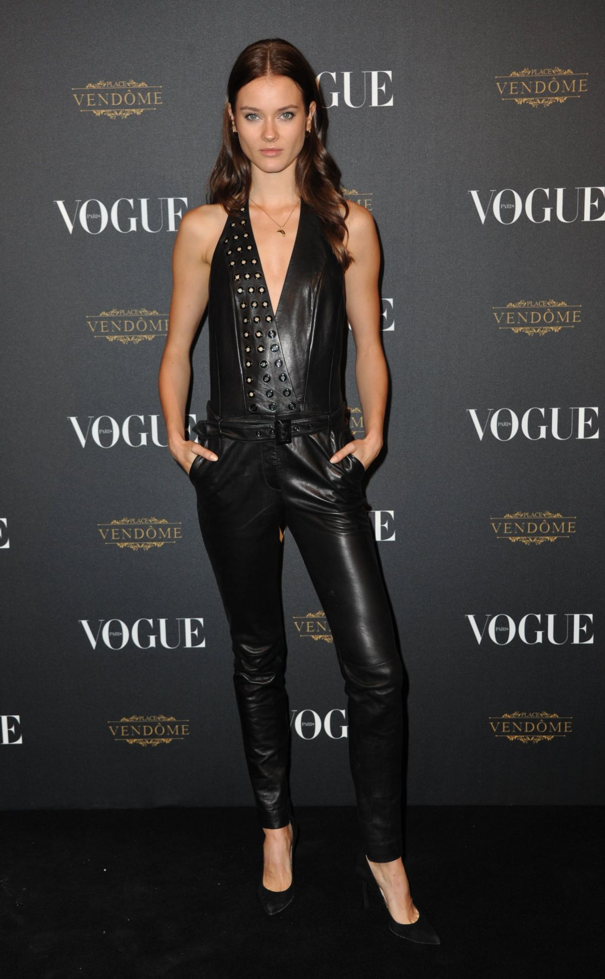 MONIKA JAGACIAK at Vogue's 95th Anniversary Party in Paris 10/03/2015