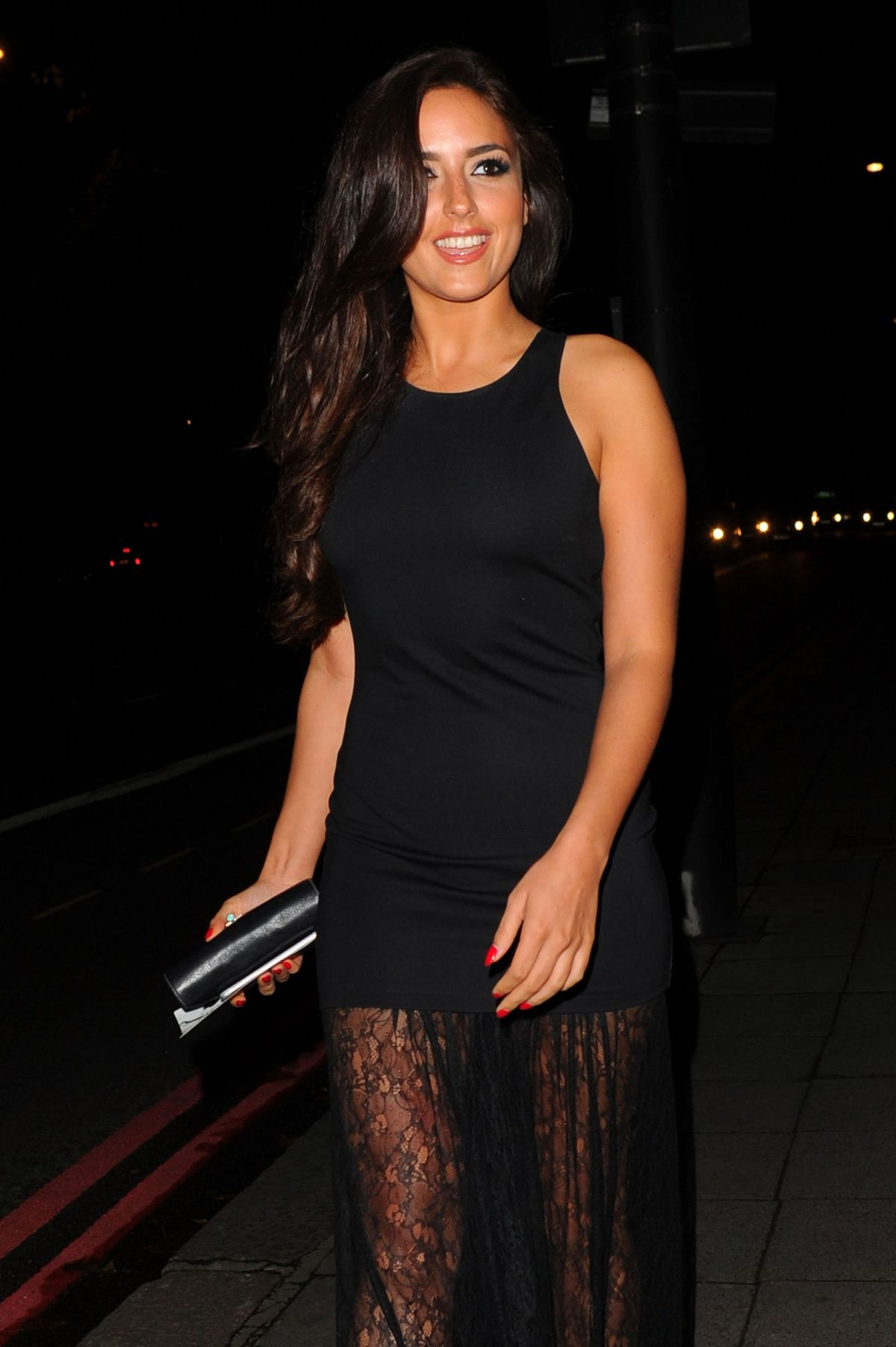 Nadia Forde At The Breast Cancer Care Fashion Show In