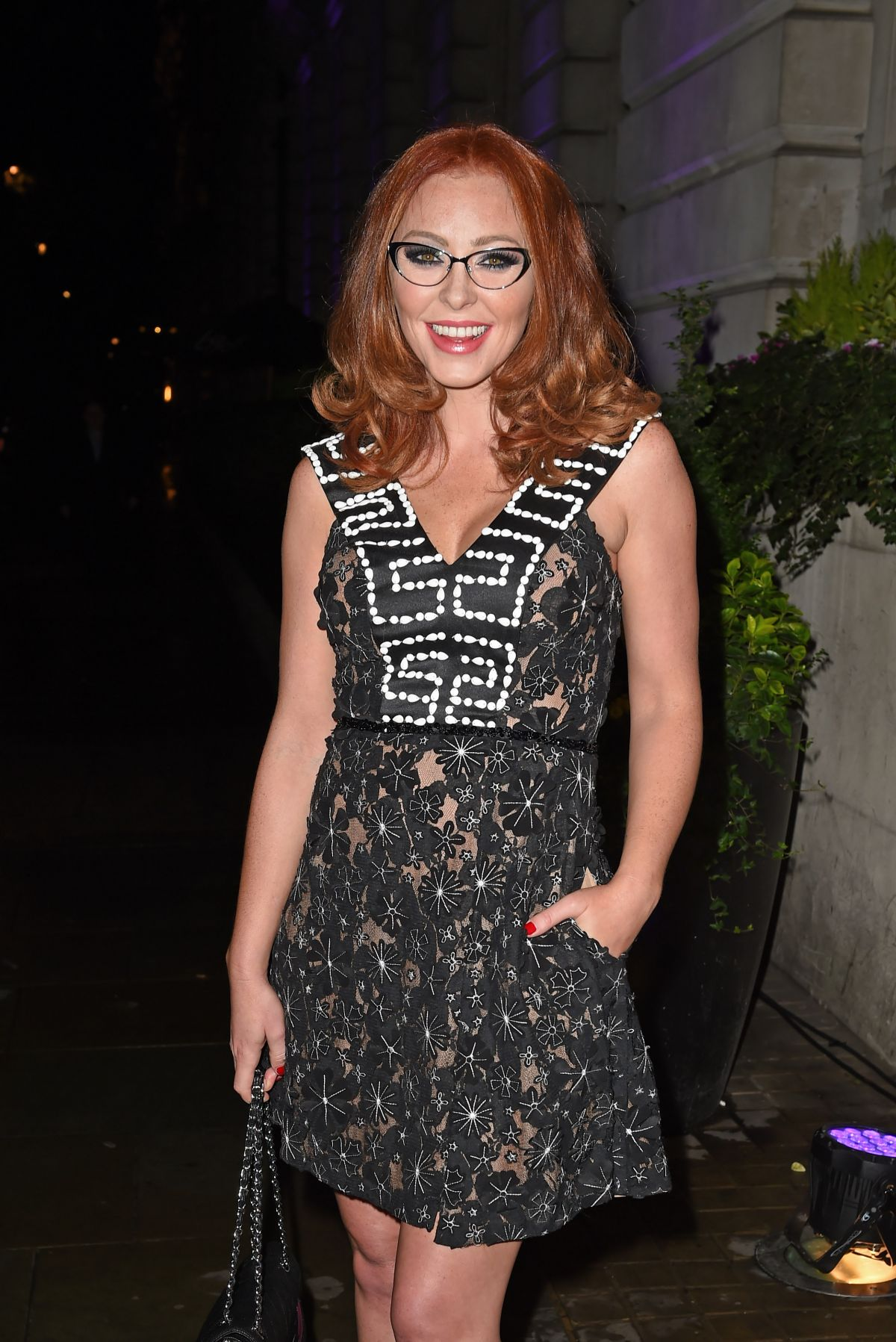 NATASHA HAMILTON at Specsavers