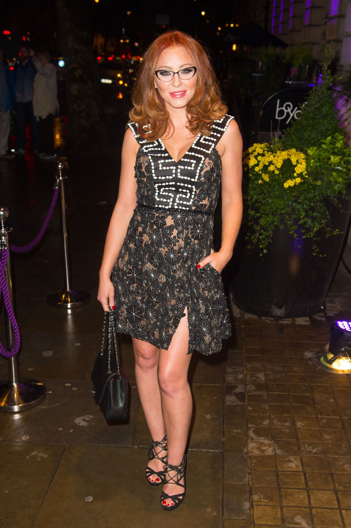 NATASHA HAMILTON at Specsavers' Spectacle of the Year 2015 in London 10/06/2015