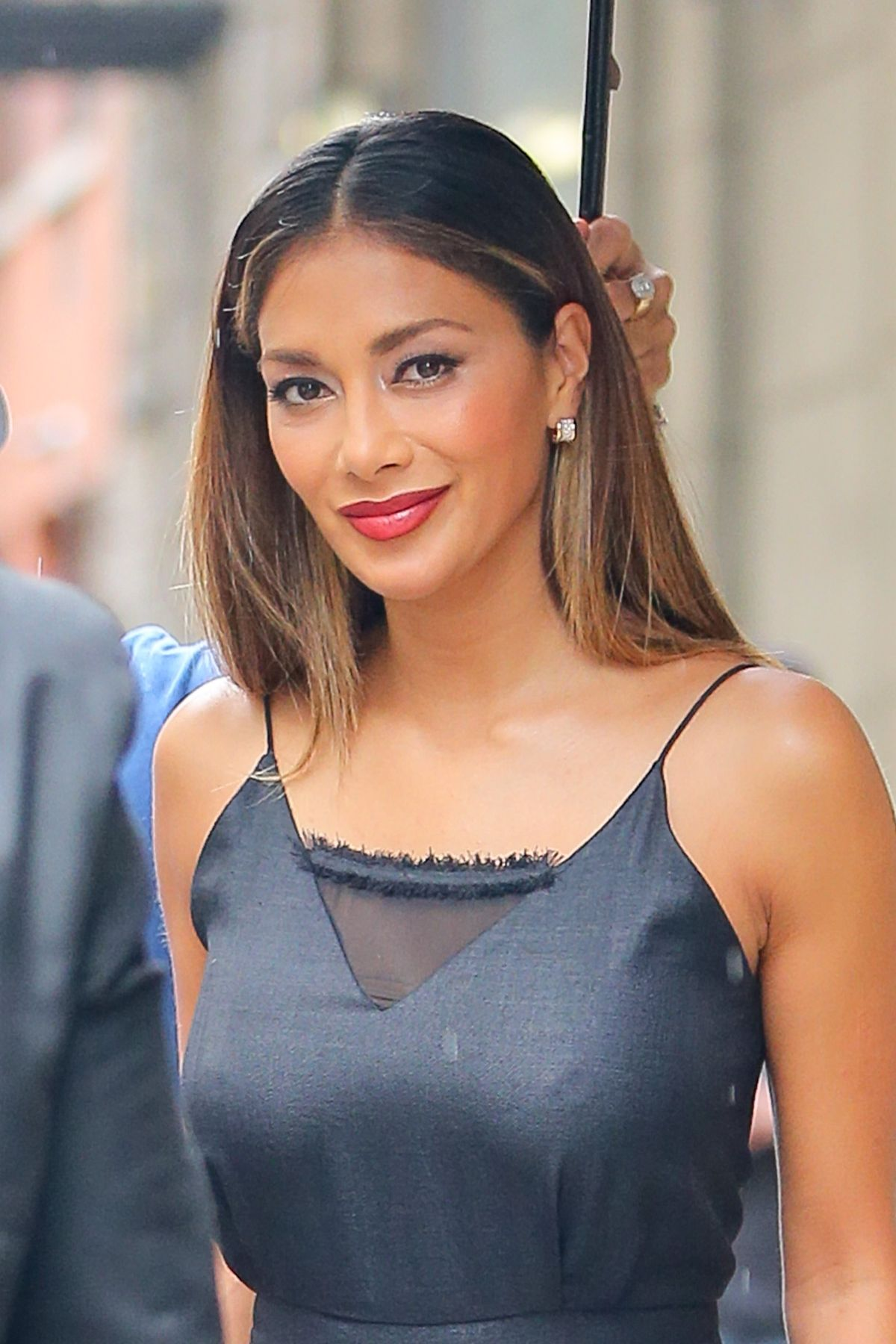 Nicole Scherzinger Leaves The Wendy Williams Show In New