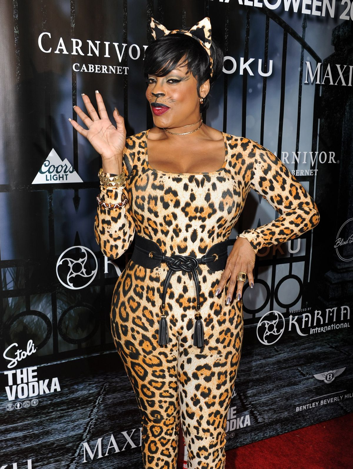NIECY NASH at Maxim Magazine's Official Halloween Party in Beverly ...