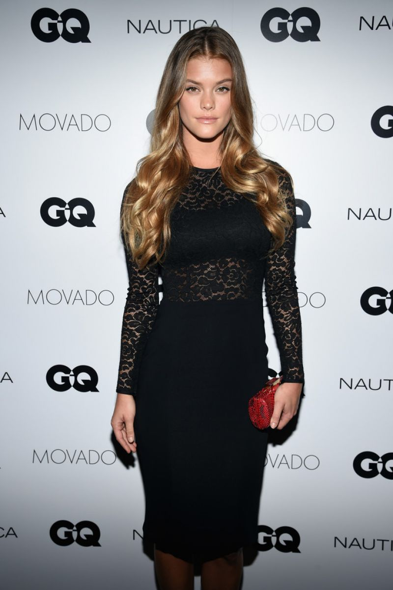 NINA AGDAL at GQ Gentlemen