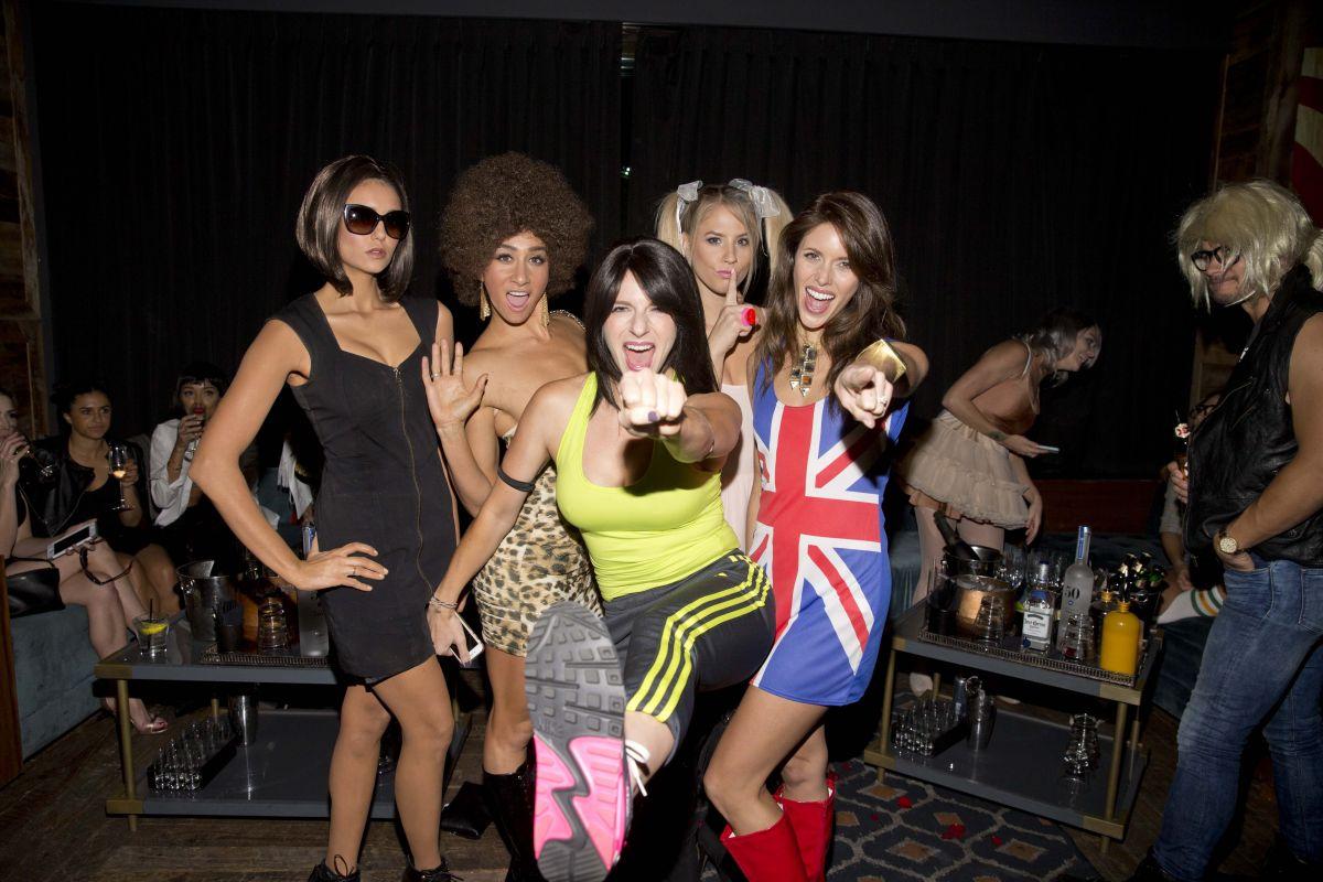 NINA DOBREV at Matthew Morrison's Halloween Masquerade Ball in Los ...