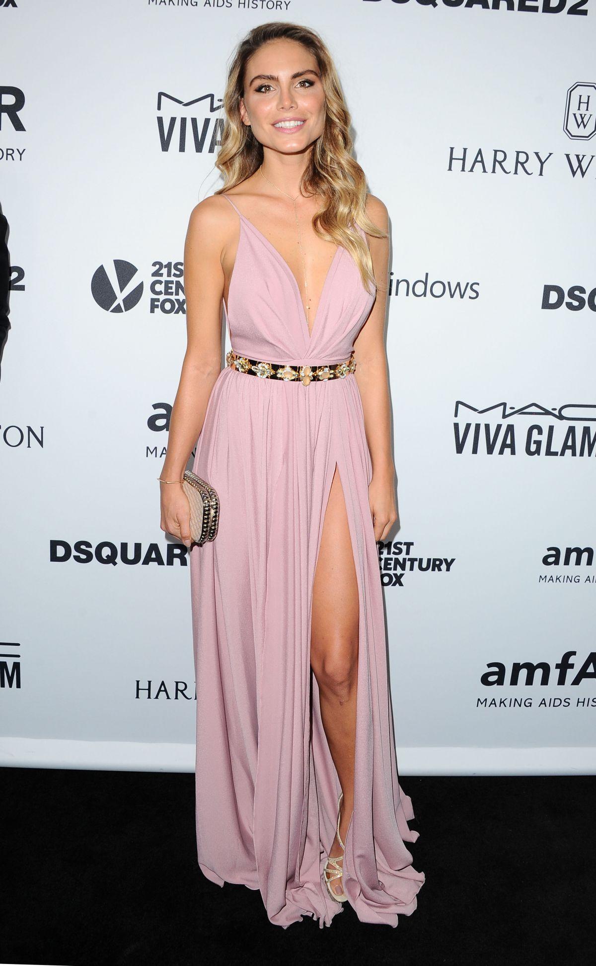 NINA SENICAR at amfAR's Inspiration Gala in Hollywood 10/29/2015